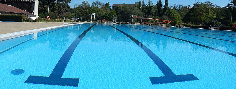 2014 Freibad Eröffnung - schwimmerbecken totale