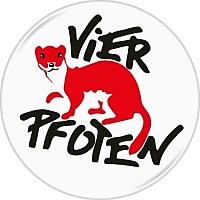 Logo VIER PFOTEN - Stiftung fuer Tierschutz