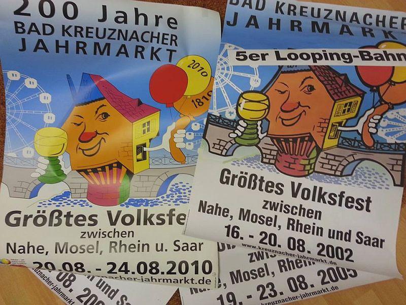 080814 JM - 07 tage - CM Jahrmarkt - plakate
