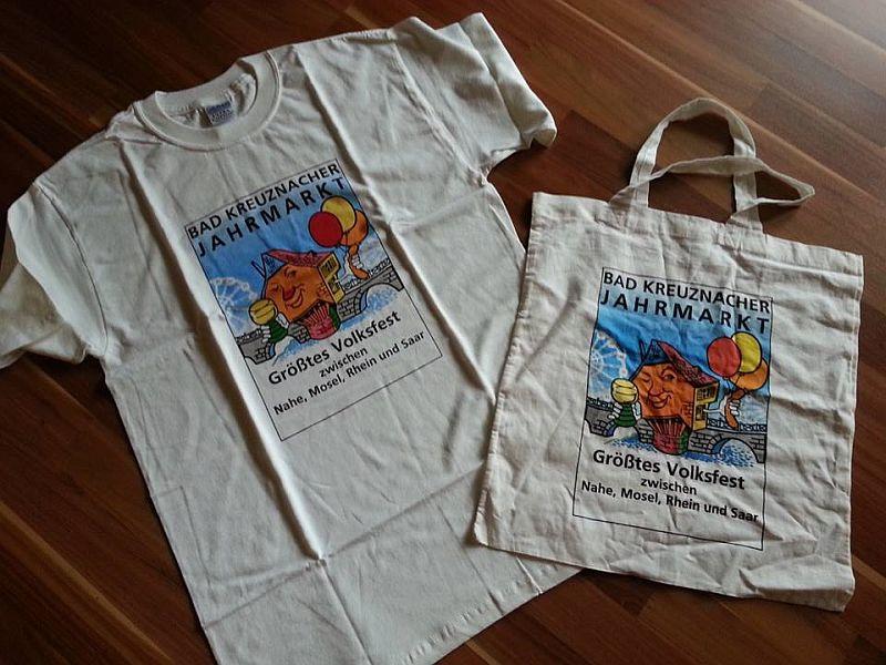CM Jahrmarkt Tshirt und tasche