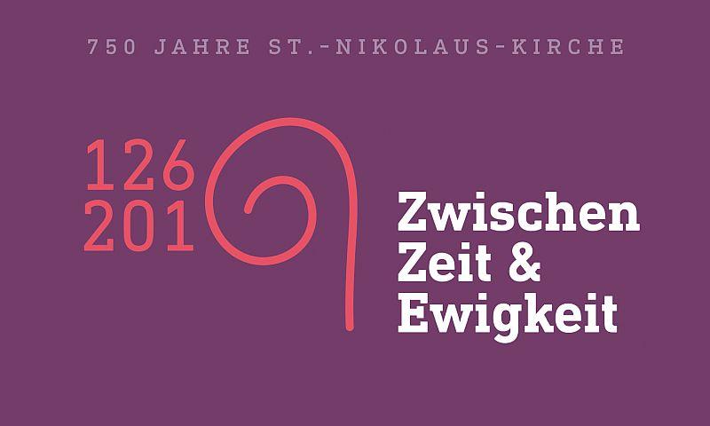 Logo zum Jubiläum Nikolauskirche