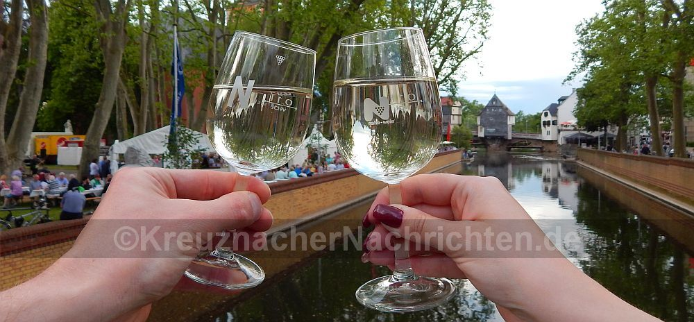 Weinfestival -gläser