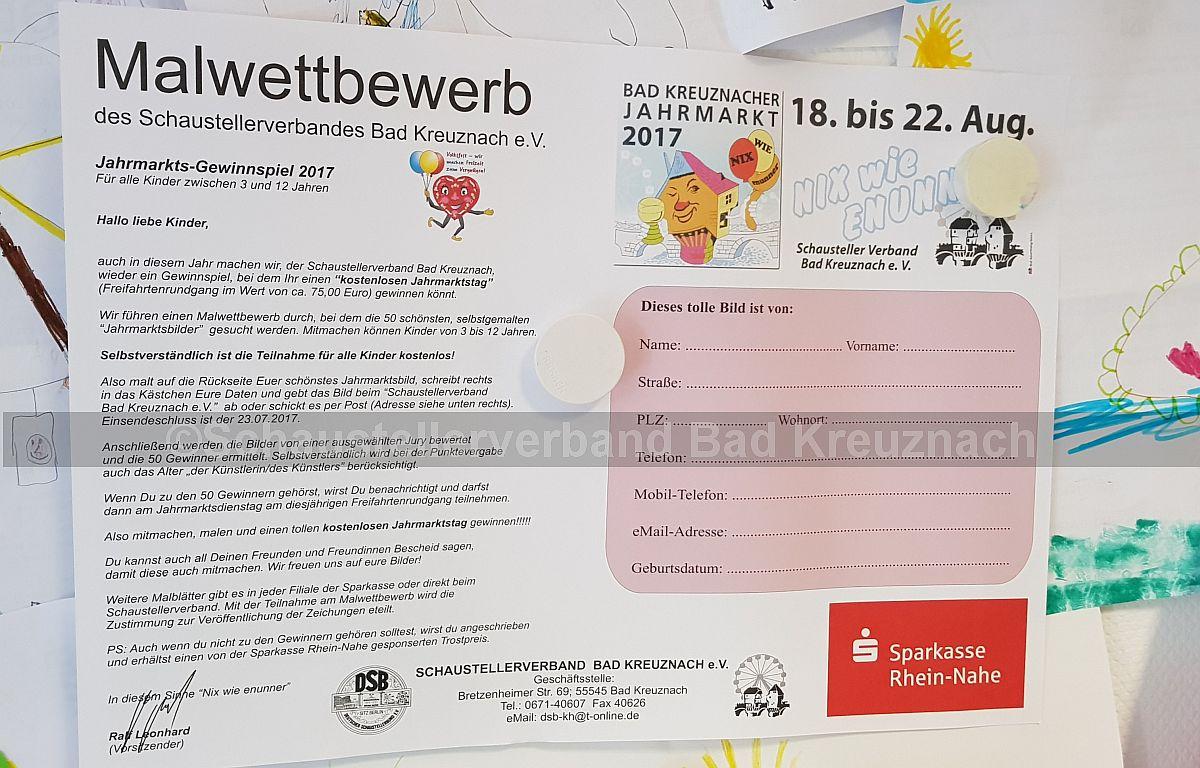 Den Malbogen gibt es in allen Filialen der Sparkasse Rhein-Nahe! Also schnell noch los und teilnehmen!