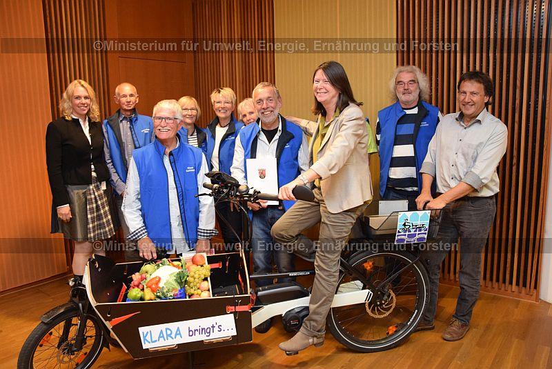 Rainer Schmitt, Klaus Schneider, Ulrike Höfken, Pitt Elben, Christel Neugebauer, Ulla Baumgärtner, Hanne Wolf, Klaus Kahlstadt, Hans-Peter Klein, Dr. Heike Kaster-Meurer.