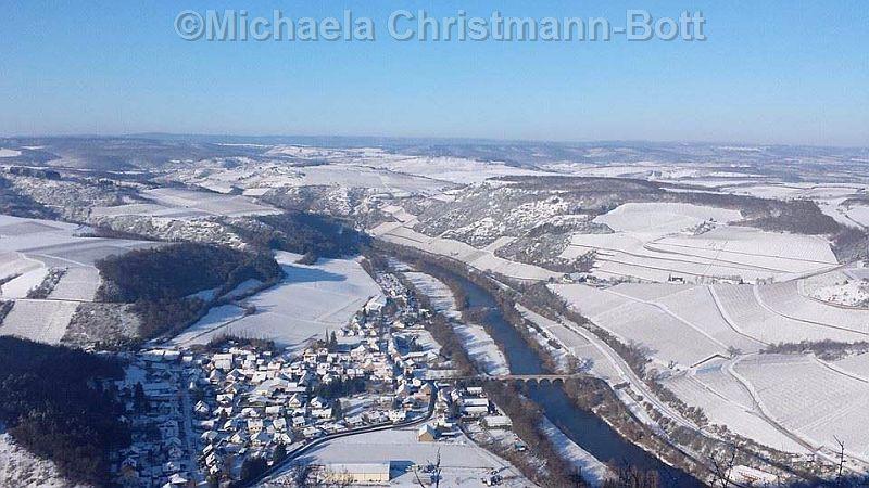 Ein Wintertag in Oberhausen (Nahe)