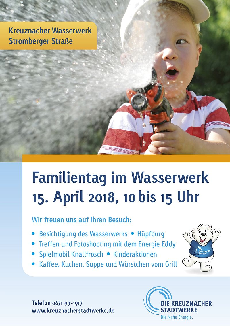 2018 wasser plakat