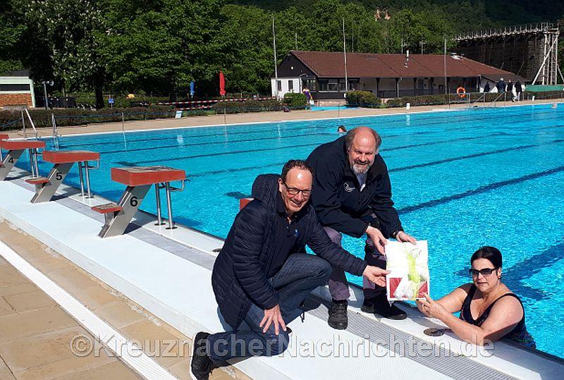 Unser Interviewpartner Klaus-Dieter Dreesbach (links)